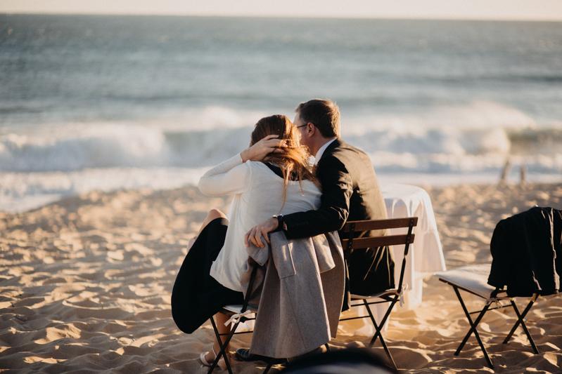 Photographe mariage reportage destination wedding photographer Cap Ferret Bartherotte Gironde Bordeaux mer sable plage mariee-123