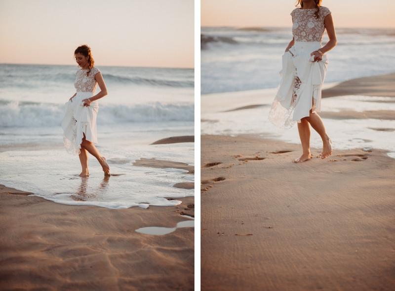Photographe mariage reportage destination wedding photographer Cap Ferret Bartherotte Gironde Bordeaux mer sable plage mariee-150
