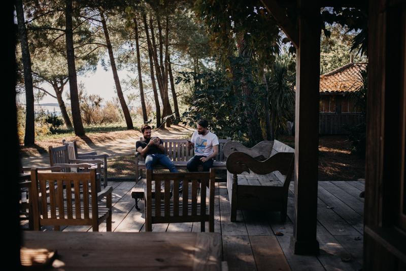 Photographe mariage reportage destination wedding photographer Cap Ferret Bartherotte Gironde Bordeaux mer sable plage mariee-19