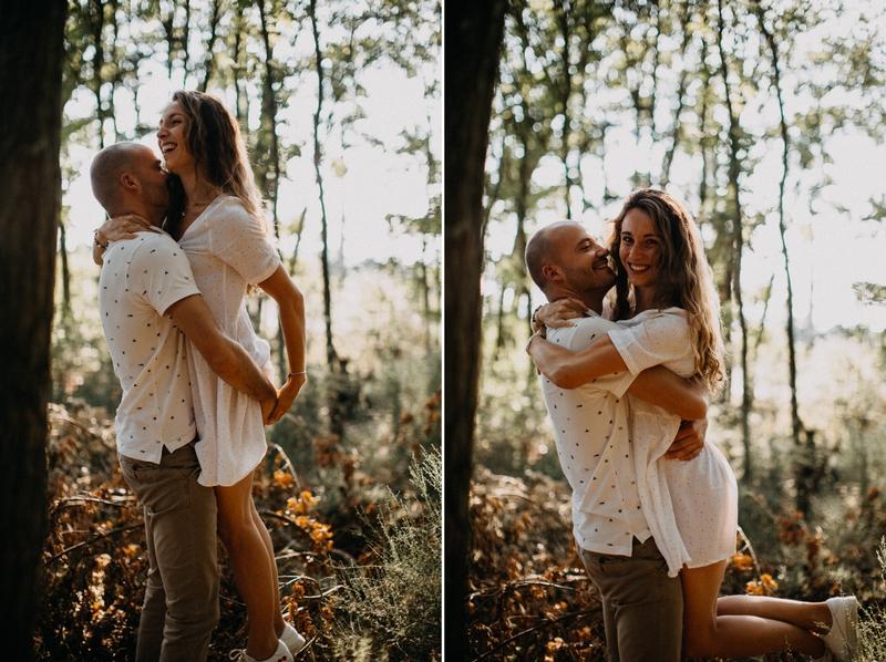 Photographe mariage seance photo lifestyle couple love session amour amoureux nature moody bois Lyon-5