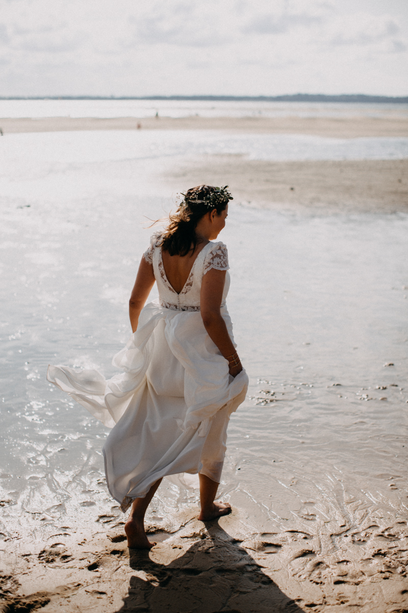 wedding photographer mariage reportage seance photo arcachon mariee bride Bordeaux cap ferret plage love session amour couple-32