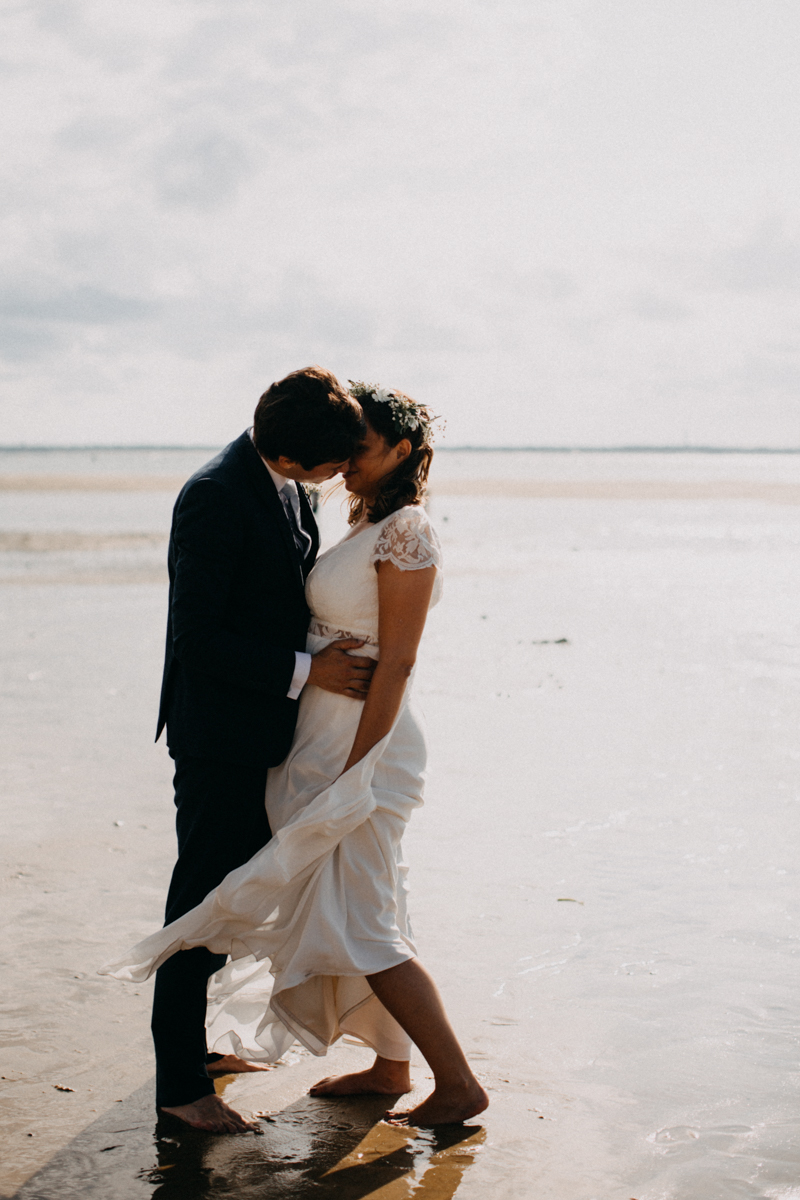 wedding photographer mariage reportage seance photo arcachon mariee bride Bordeaux cap ferret plage love session amour couple-34