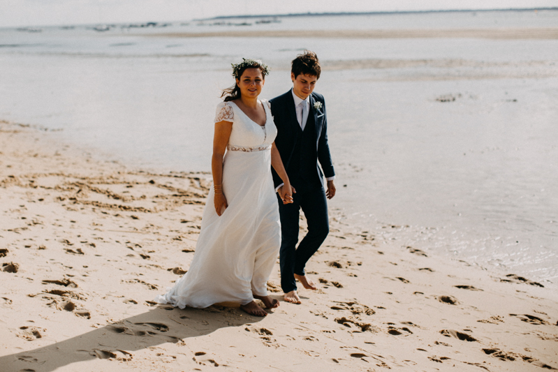 wedding photographer mariage reportage seance photo arcachon mariee bride Bordeaux cap ferret plage love session amour couple-38