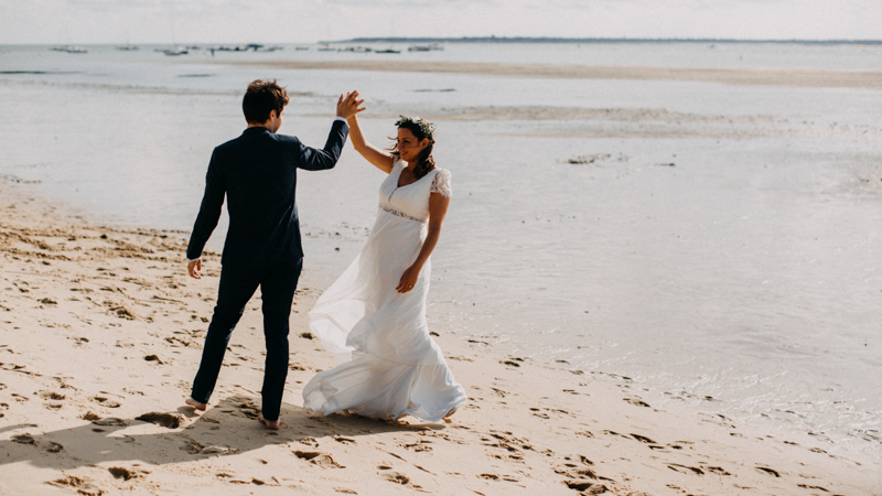 wedding photographer mariage reportage seance photo arcachon mariee bride Bordeaux cap ferret plage love session amour couple-39