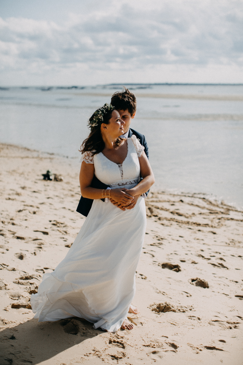 wedding photographer mariage reportage seance photo arcachon mariee bride Bordeaux cap ferret plage love session amour couple-42