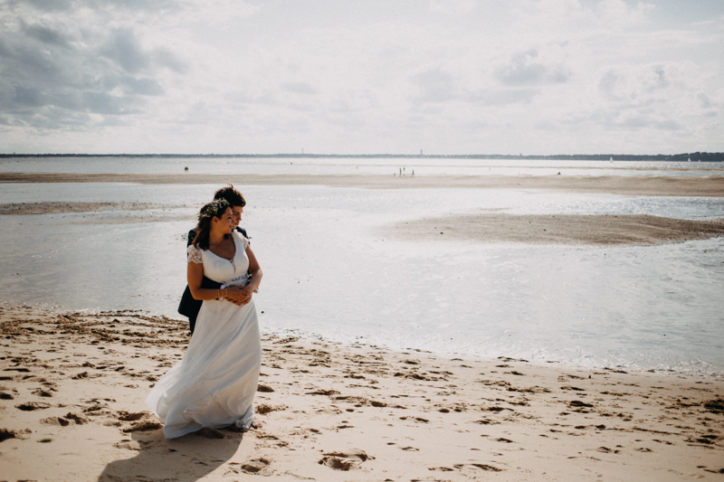 wedding photographer mariage reportage seance photo arcachon mariee bride Bordeaux cap ferret plage love session amour couple-43