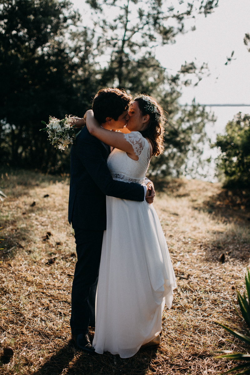 wedding photographer mariage reportage seance photo arcachon mariee bride Bordeaux cap ferret plage love session amour couple-50