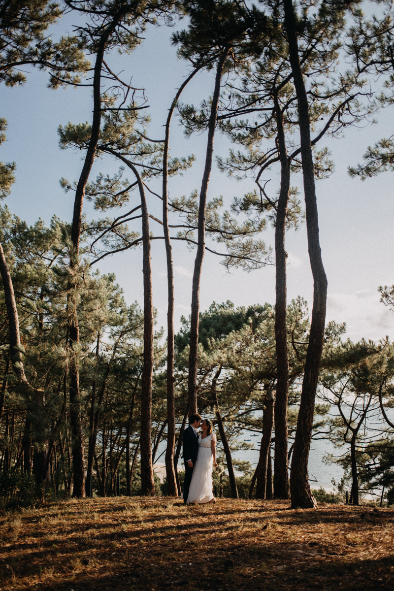 wedding photographer mariage reportage seance photo arcachon mariee bride Bordeaux cap ferret plage love session amour couple-61