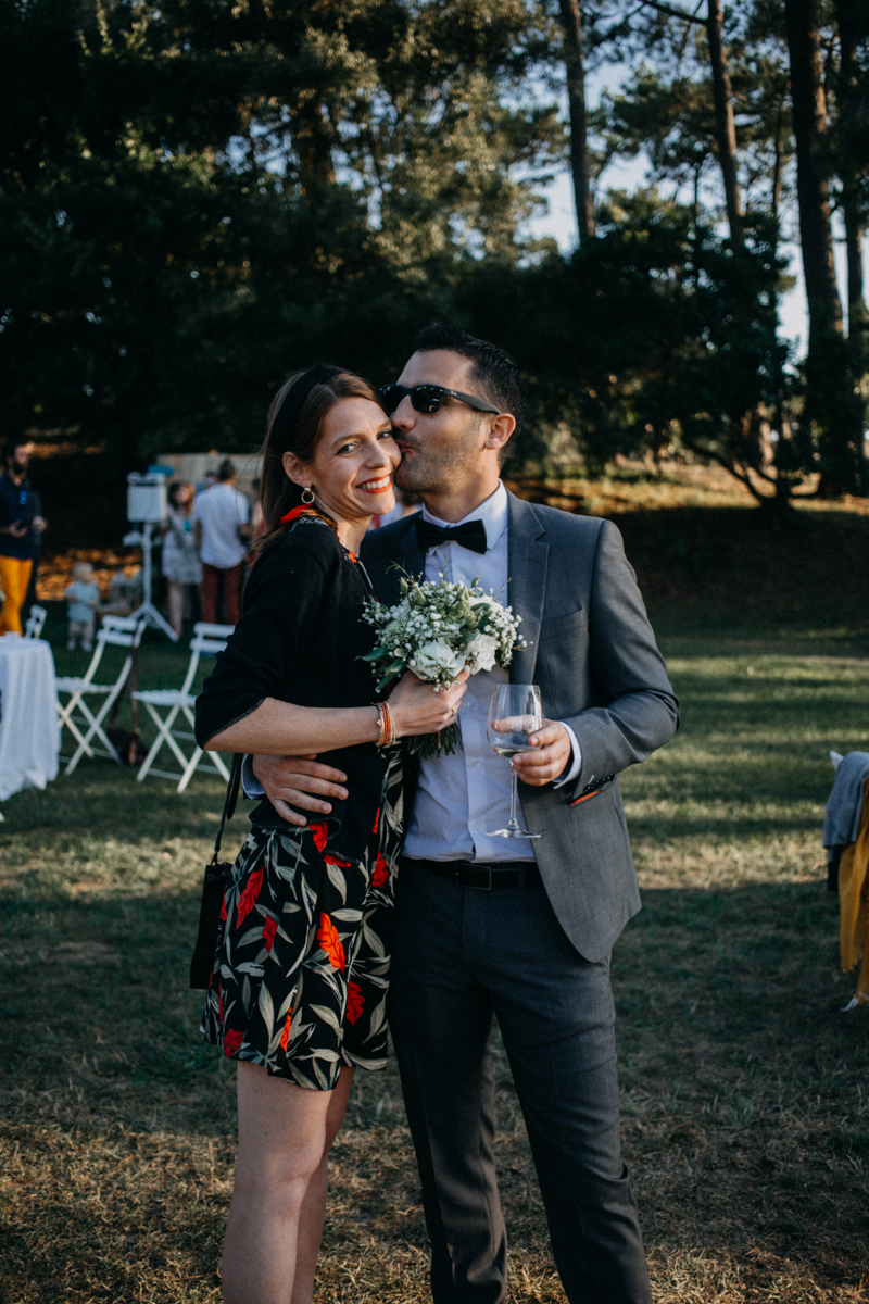 wedding photographer mariage reportage seance photo arcachon mariee bride Bordeaux cap ferret plage love session amour couple-75
