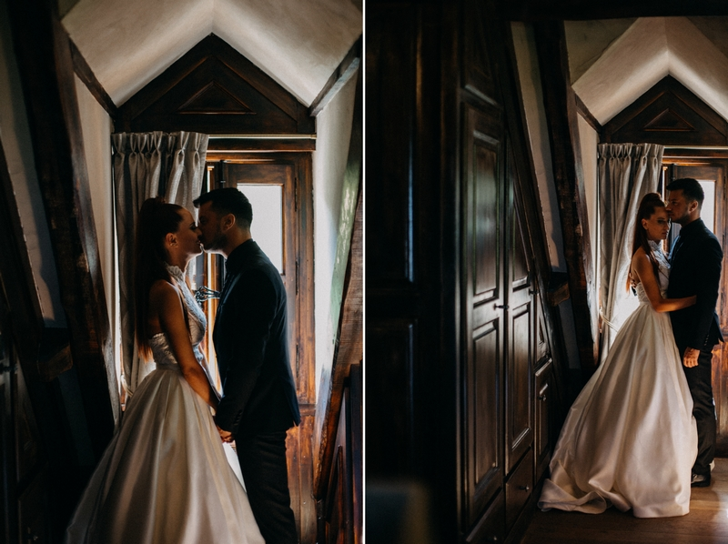 Photographe mariage seance photo reportage wedding photographer destination domaine des saints peres montagnole sorcier wood foret dark harry potter boho moody-11