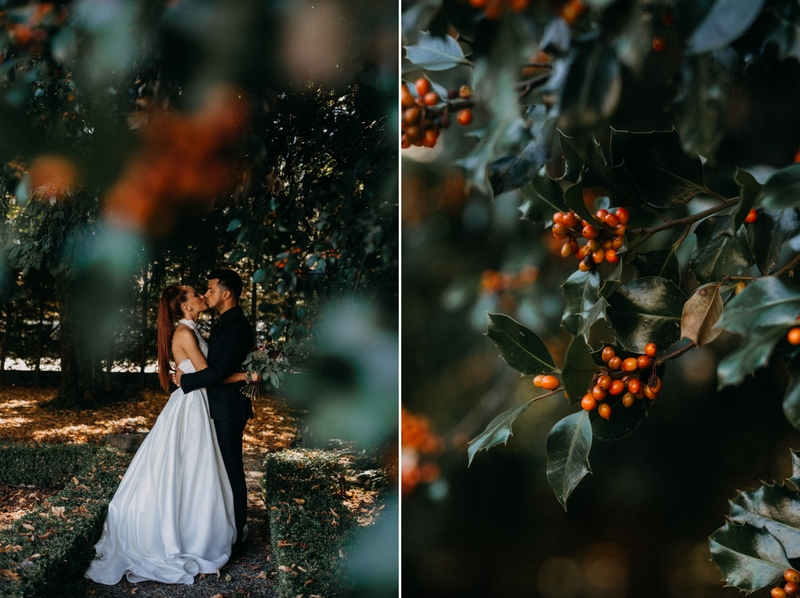 Photographe mariage seance photo reportage wedding photographer destination domaine des saints peres montagnole sorcier wood foret dark harry potter boho moody-17