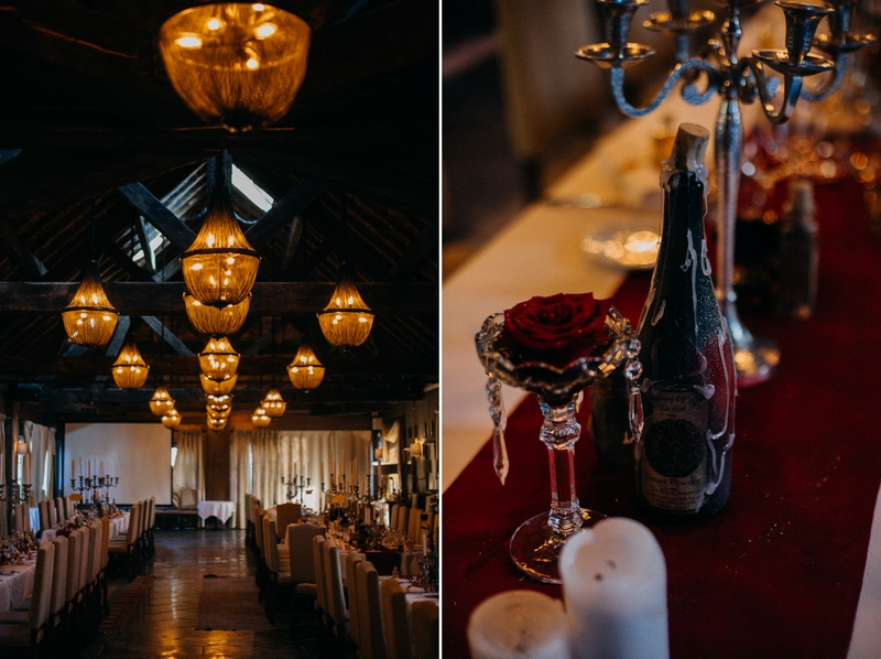 Photographe mariage seance photo reportage wedding photographer destination domaine des saints peres montagnole sorcier wood foret dark harry potter boho moody-54