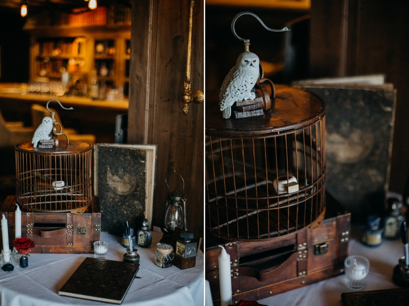 Photographe mariage seance photo reportage wedding photographer destination domaine des saints peres montagnole sorcier wood foret dark harry potter boho moody-67