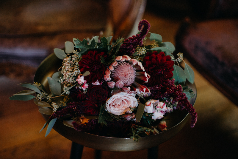 Photographe mariage seance photo reportage wedding photographer destination domaine des saints peres montagnole sorcier wood foret dark harry potter boho moody-8