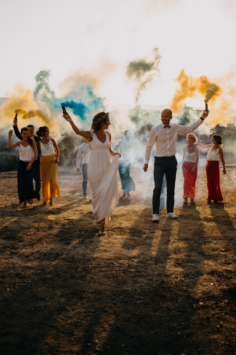 Photographe reportage mariage wedding love session destination fumigene boho wild rock-151