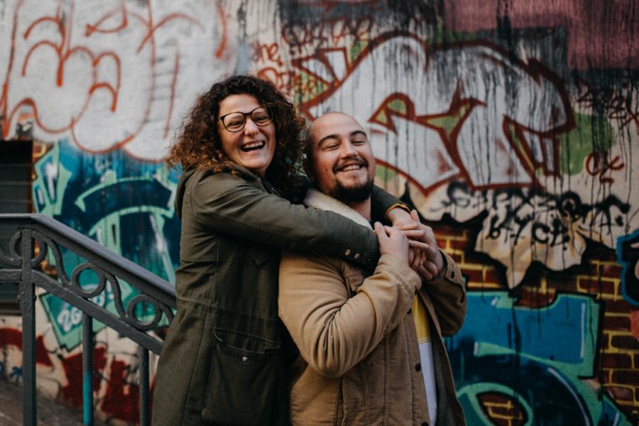 photographe love session engagement mariage couple amour Lyon soleil tag la croix rousse-7