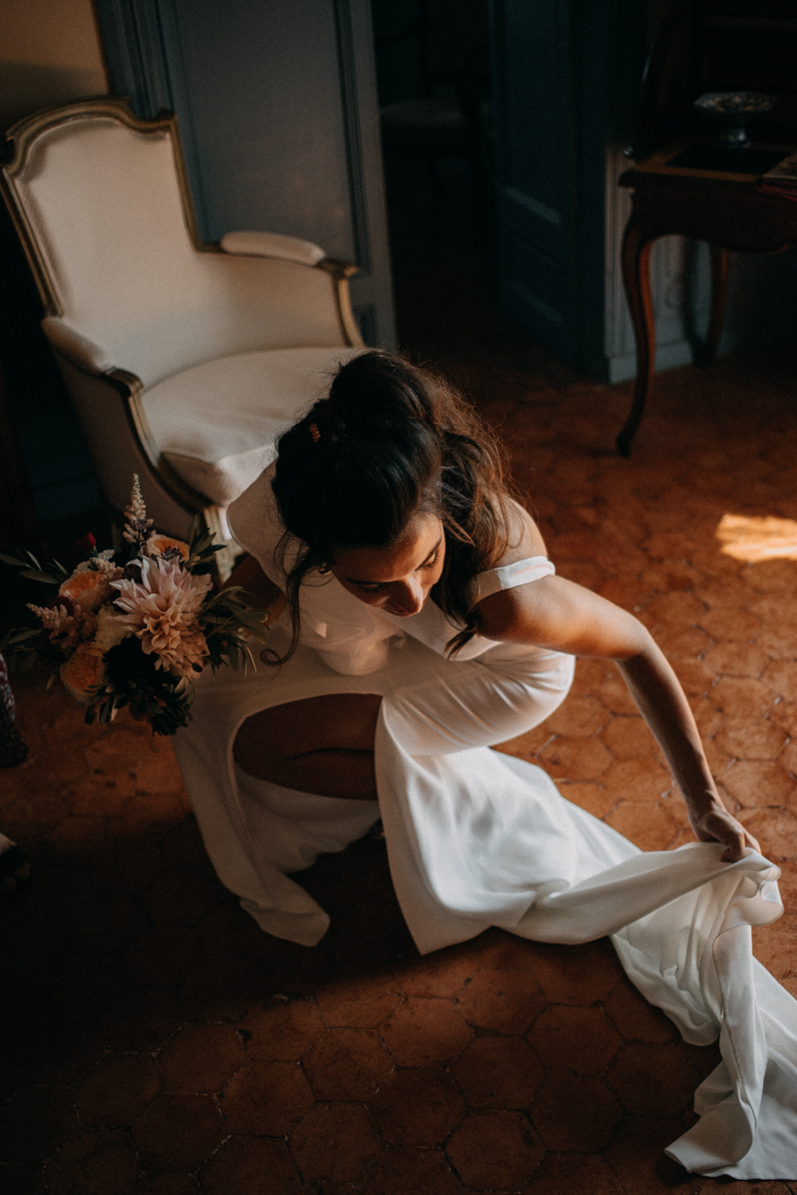 reportage photo mariage seance reportage amour love session chateau de la barben aix en provence lumiere light coucher de soleil-45