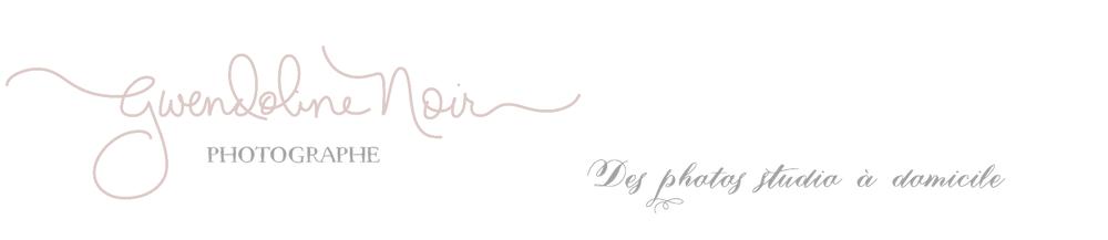 Photographe nouveau-né , bébé, photos grossesse , femme enceinte , mariage & familles – Lyon – Rhône – Gwendoline Noir logo
