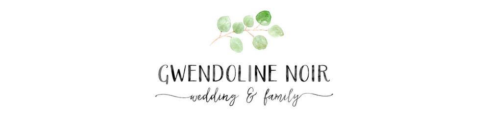 Gwendoline Noir : photographe nouveau né bébé femme enceinte mariage  à Lyon logo